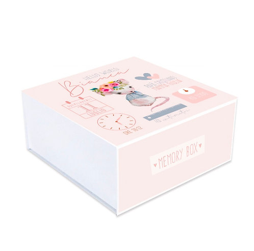 Memory box Dati Topino Rosa
