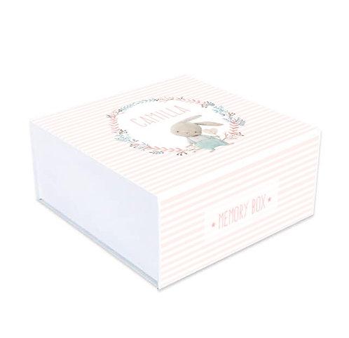 Memory box Coniglietto Pink