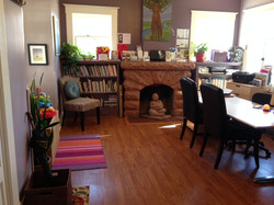 Waiting Area and Library