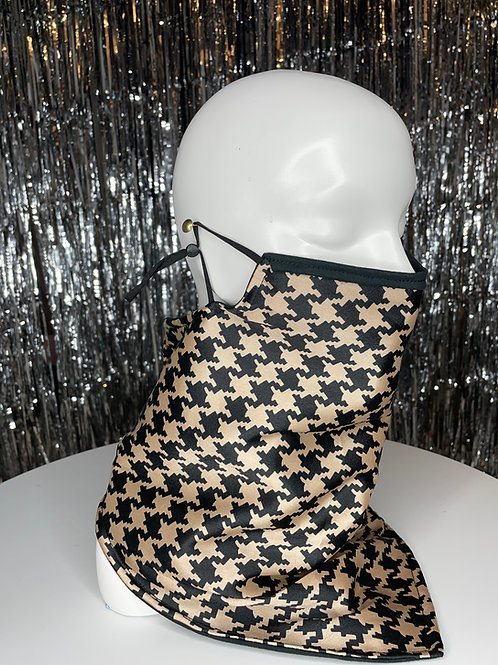 Silk Houndstooth