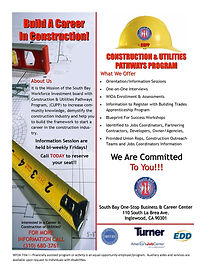 construction and utilities pathways program