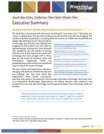 Fiber-Optic Master Plan Executive summary