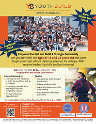 2021 SBWIB YouthBuild Flyer