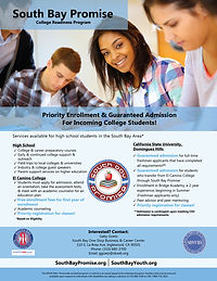 South Bay Promise flyer