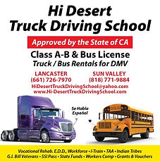 Hi Desert Trucking Driving School ad.jpg