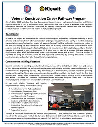 veteran construction career pathway program