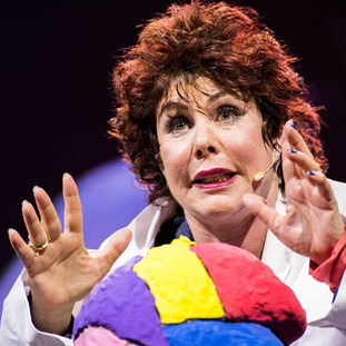[TED TALKS] Ruby Wax: What's so funny about mental illness?