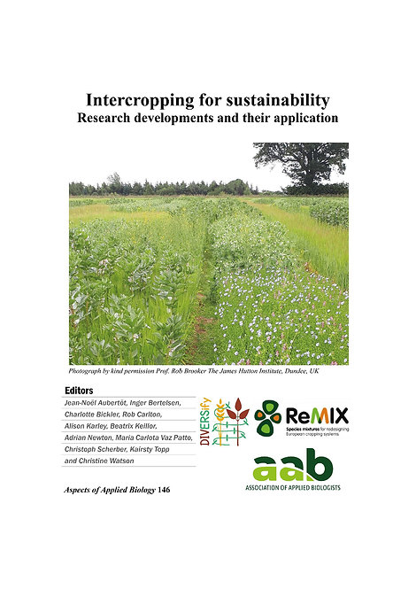 Aspect 146 Intercropping for sustainability
