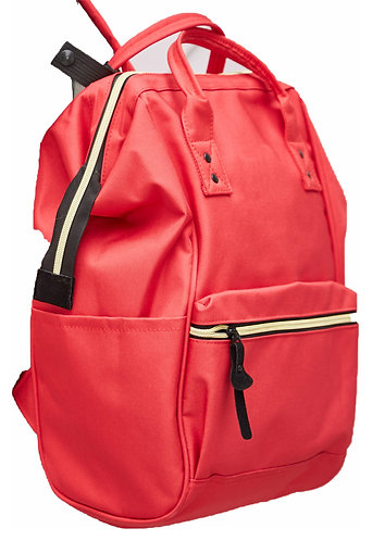 Domani Versatile Everyday Backpack - Red