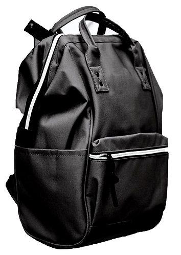 Domani Versatile Everyday Backpack - Black