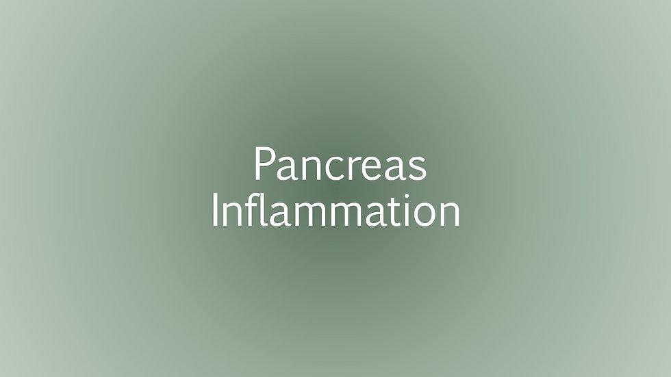 Pancreas Inflammation Test (Lipase)