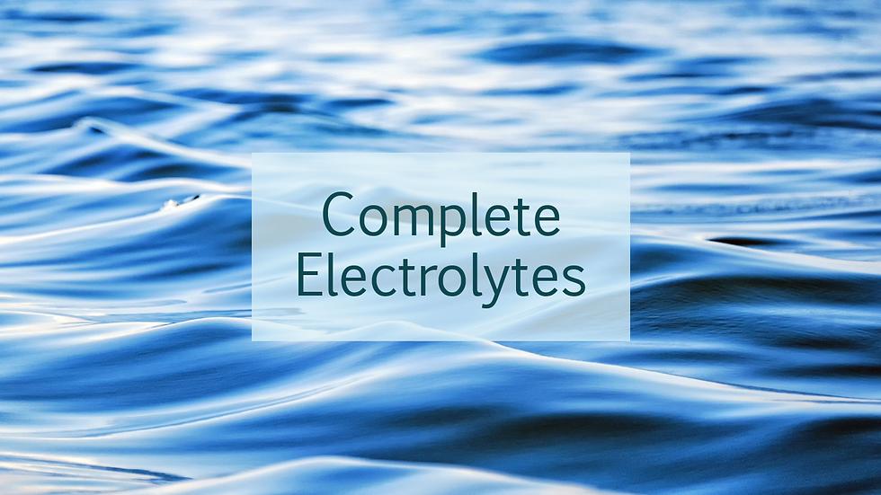 Complete Electrolytes (CMP)