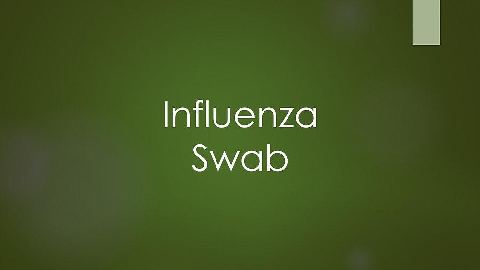 Influenza swab