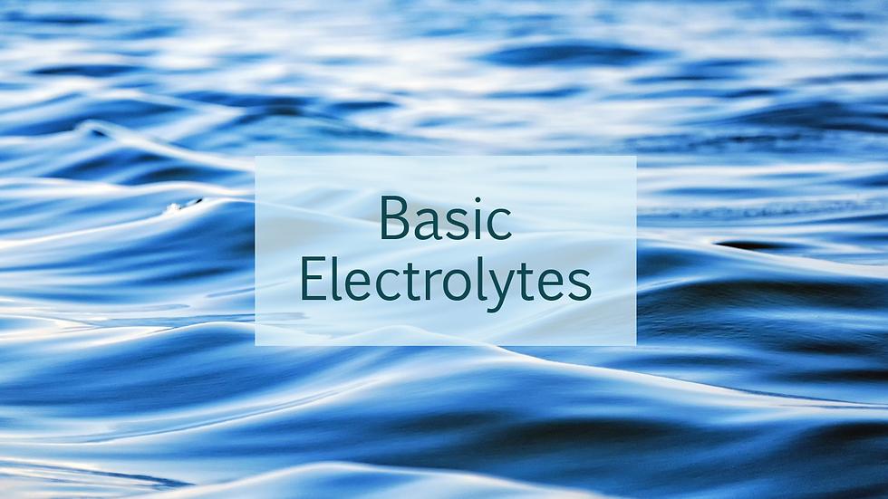 Basic Electrolytes (BMP)
