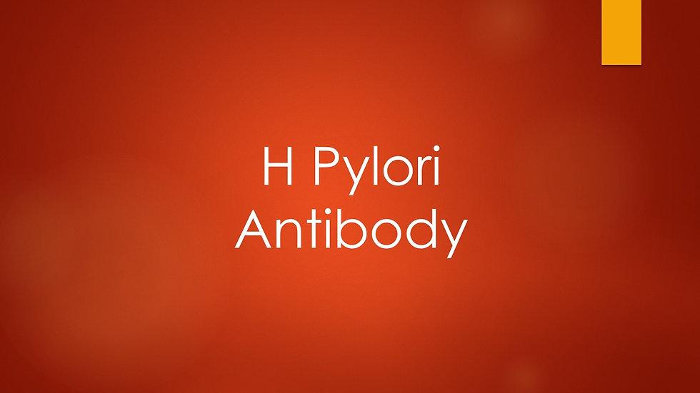 H Pylori Antibody
