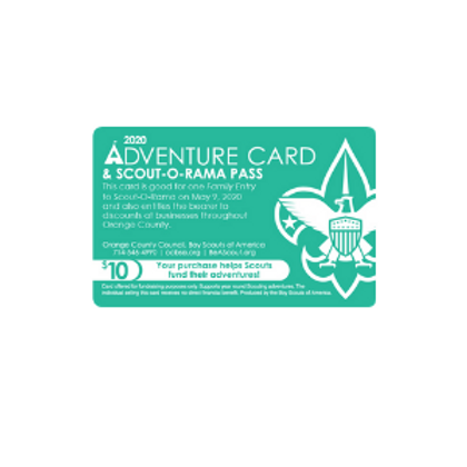 Scout-o-rama Card