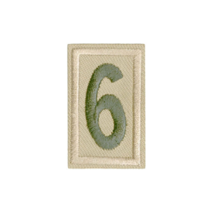 Numeral Patch