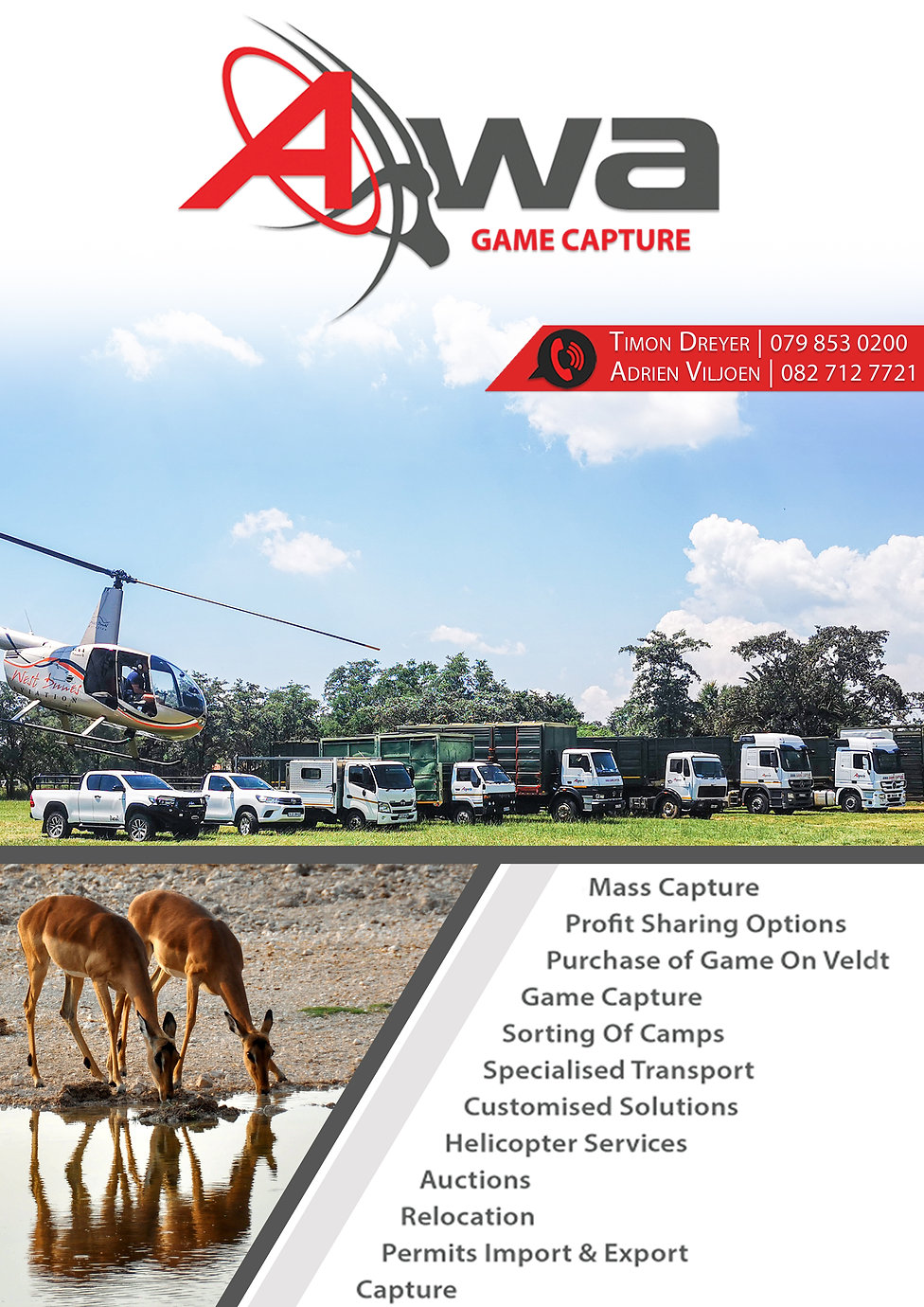 Wildlife Capture and Selling