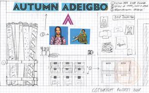 Fashion Designer Home Production Organization