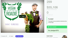My Vegan Roadie is FUNDED!