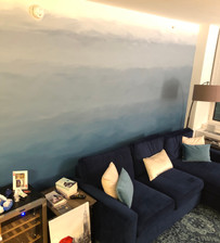 Lead Designer - Hand-painted Ombré Wall Long Island City, NY