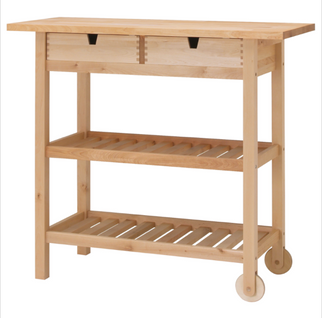 IKEA Kitchen Carts: From Bare to Beautiful!