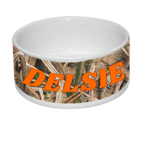 Dog Bowl Large Ceramic