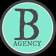 B Agency Shaped new aqua.png