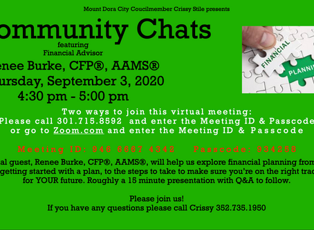 Community Chat - Certified Financial Planner