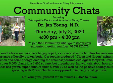 Community Chats - Healthy Growing