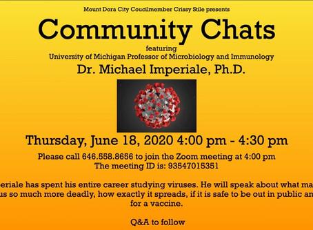Community Chats - Covid-19