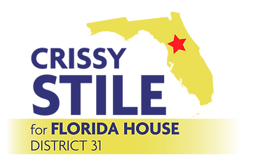 Crissy Stile for Florida House District 31 logo