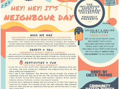 Hey Hey! It's Neighbor Day - June 19