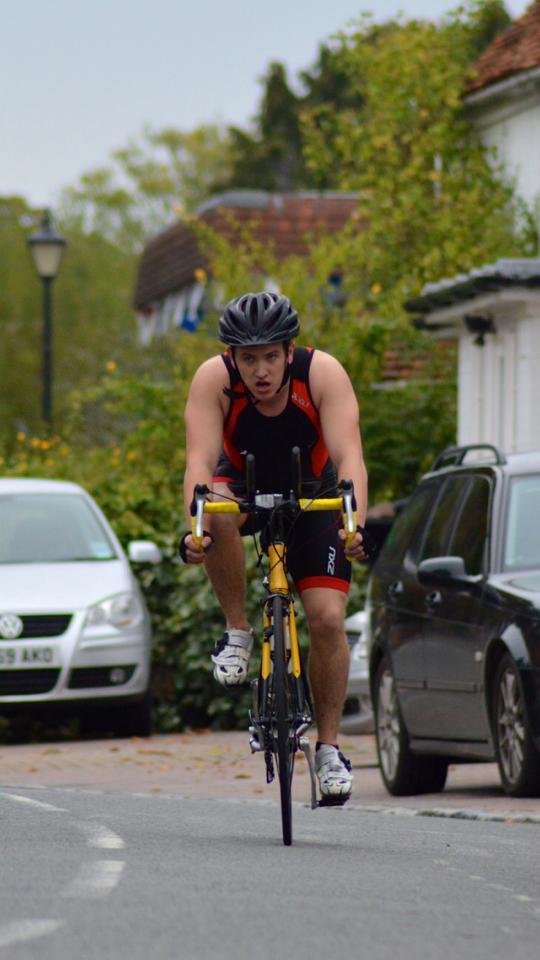 Bike Leg - Wargrave Triathlon 2013