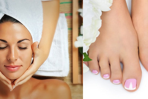 Mom's Facial & Pedicure - Limited