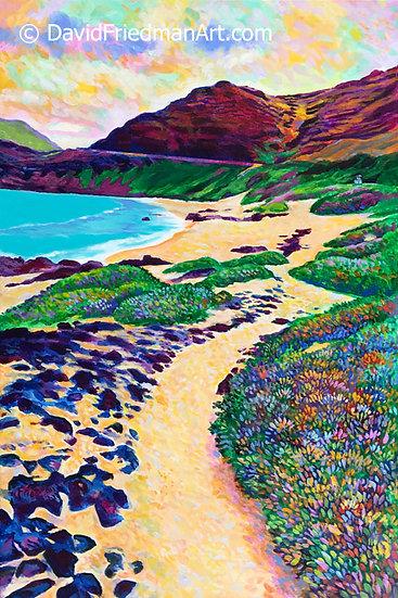 Path to Makapu'u Beach