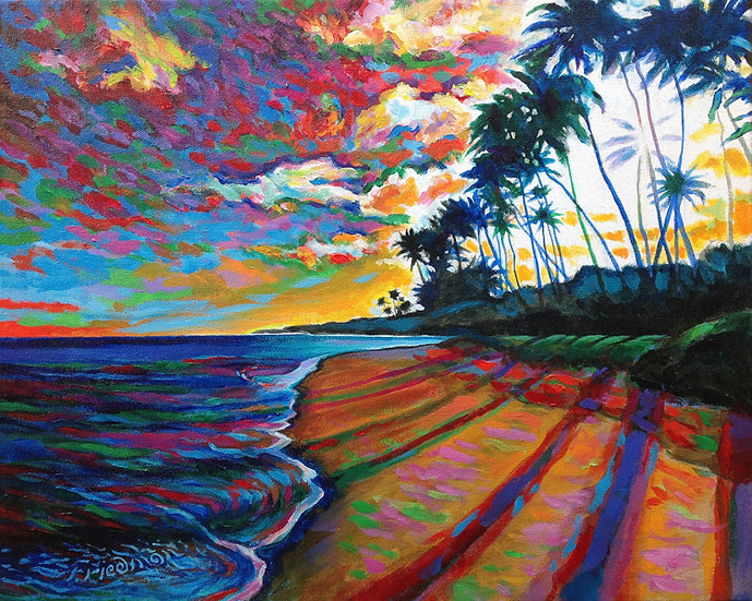 Late Afternoon Beachwalk