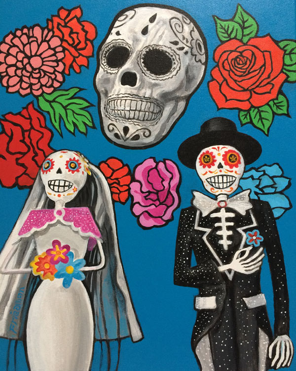 Wedding Day of the Dead