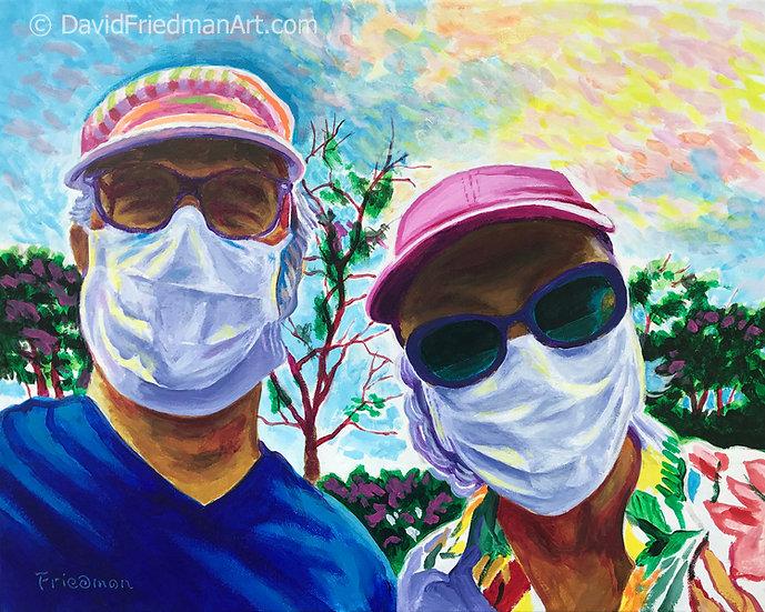 Selfie in Quarantine