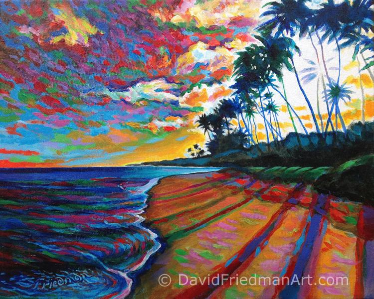 Dusk Beachwalk