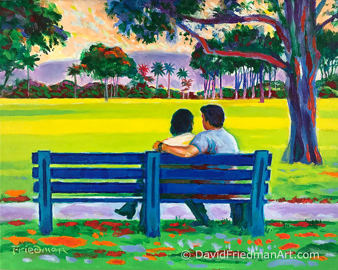 Park Bench Lovers
