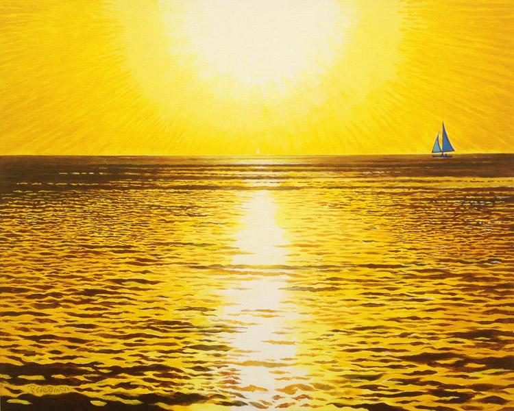 Sailing Yellow