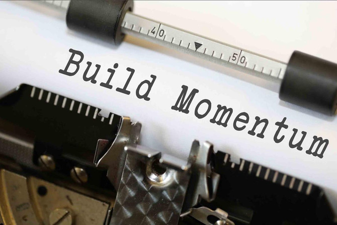 How To Build Powerful Momentum By Getting Into Action