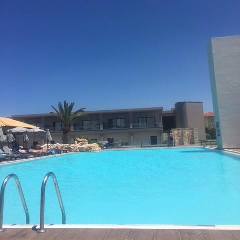 Swimming pool in Crete