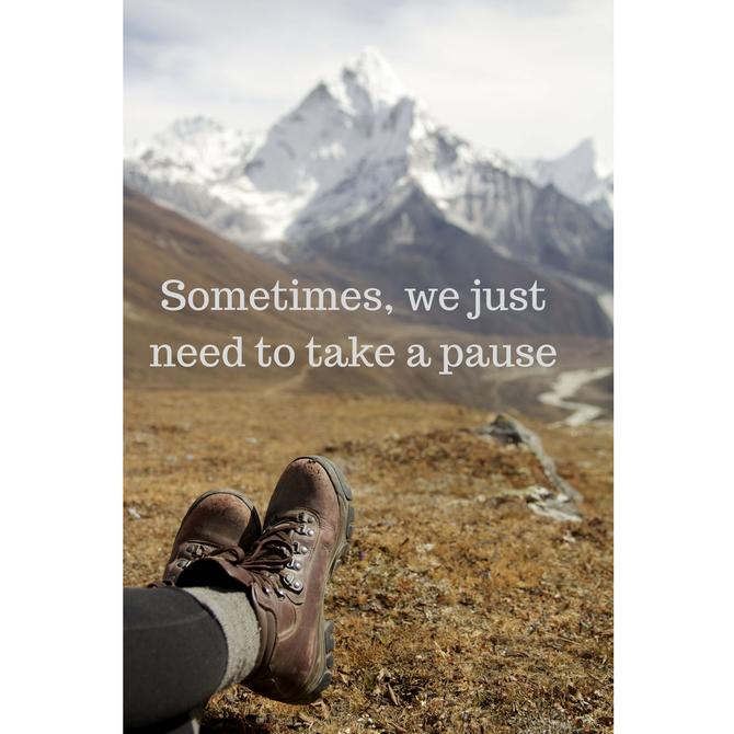 Take A Pause & Breathe