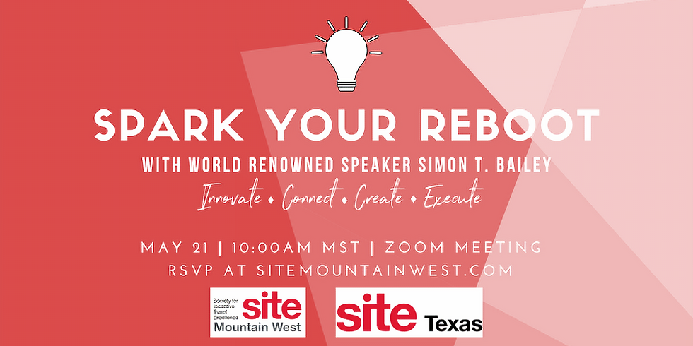 SITE Mountain West Spark Your Reboot Webinar