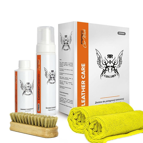 Leather Care Box Strong