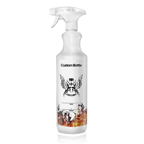 Custom Bottle with Spray Head 1L