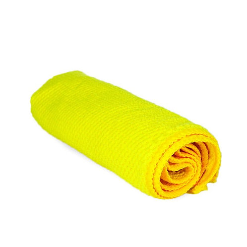 "2 Pack of Waffle Microfiber Glass Cleaning Towel 16"" by 16"" 320gsm"