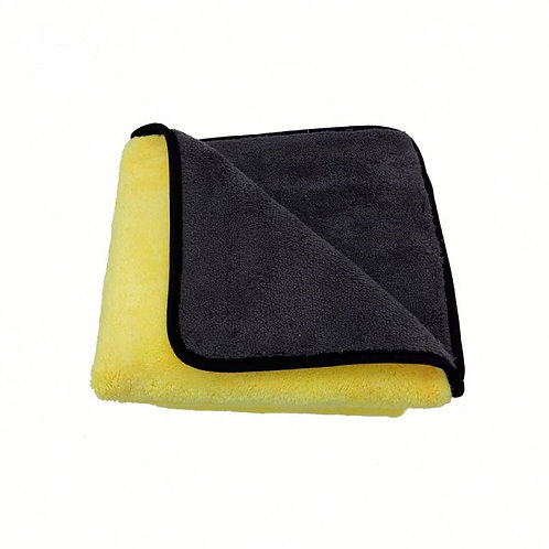 "Microfibre Drying Towel Ultra Plush 16"" by 16"" 800 gsm"